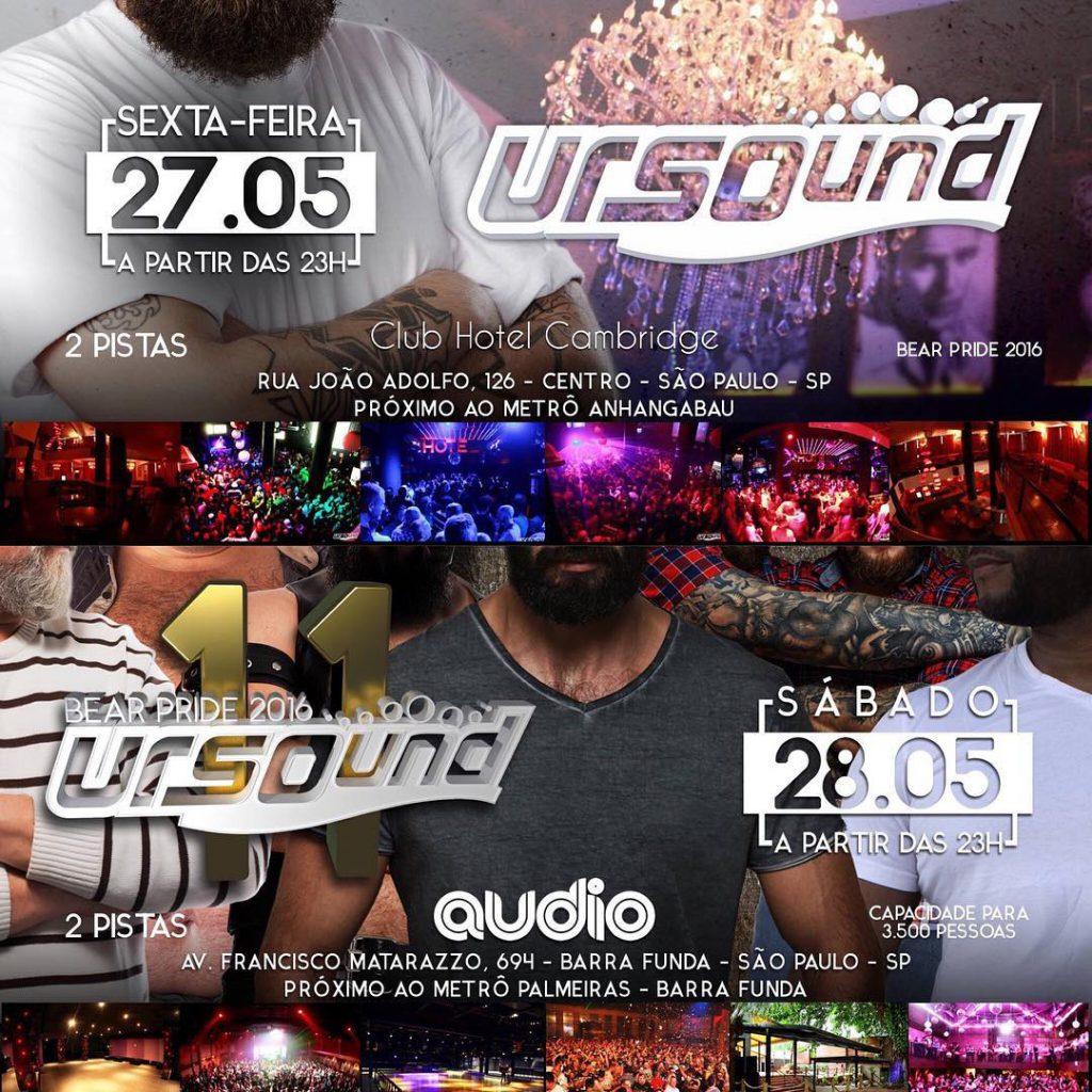 Ursound parties Sao Paulo pride 2016