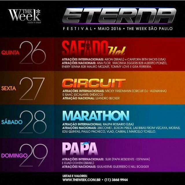 The Week Sao Paulo pride dates 2016