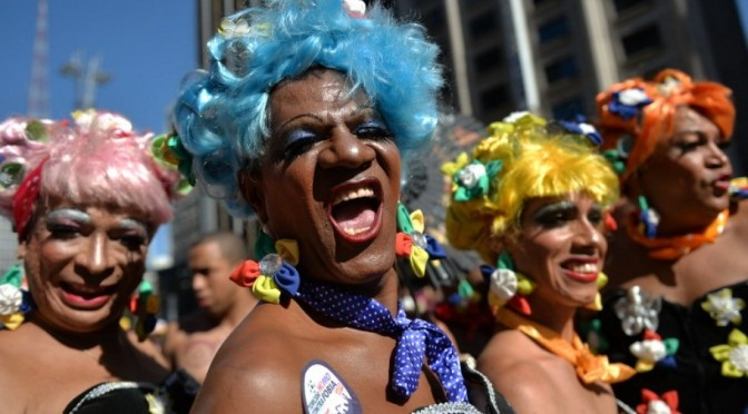 São Paulo LGBT Pride Parade Announces 2016 Event Will Focus on Transgender Rights