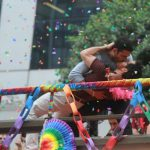 Sense8 gay kiss sao paulo parade