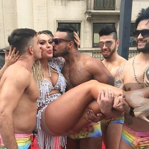 Drag and Go-go Boys in Sao Paulo